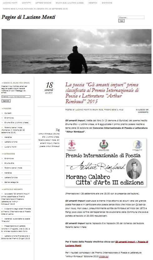 Blog Paginedilucianomonti