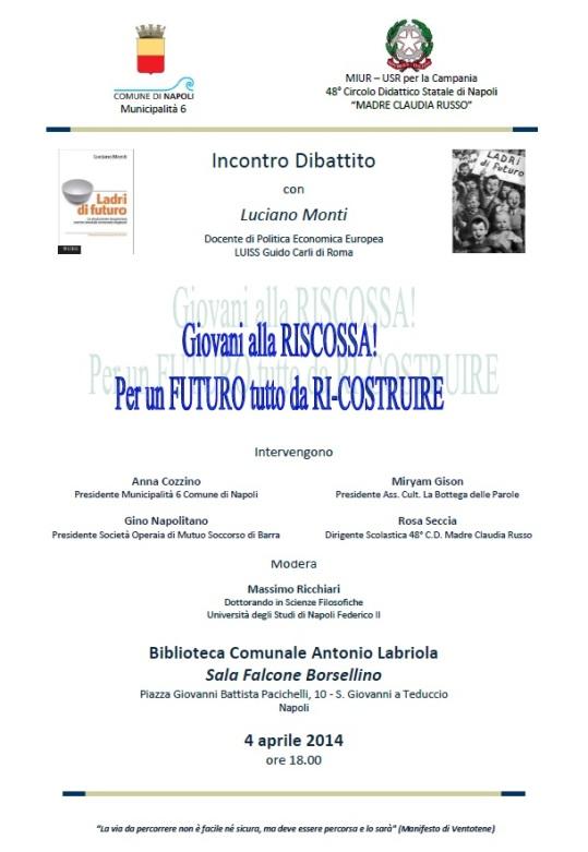 Giovani alla riscossa - Napoli 04.04.14