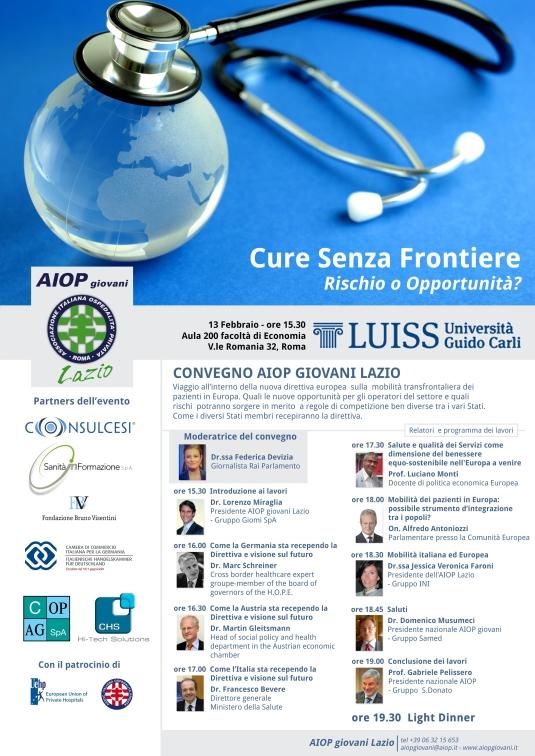 Locandina convegno AIOP Cure-senza-frontiere 13.02.14