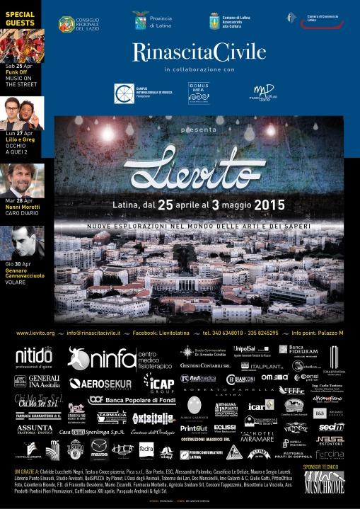 Locandina Lievito 2015