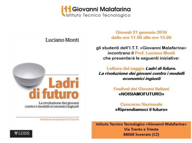 Locandina_presentazione_Ladri_di_futuro_Malafarina_Soverato_21.01.16