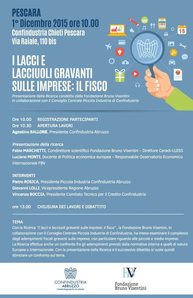Programma convegno Lacci e lacciuoli Pescara 01.12.15