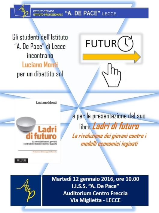 Locandina presentazione Ladri di futuro Lecce 12.01.16.jpg